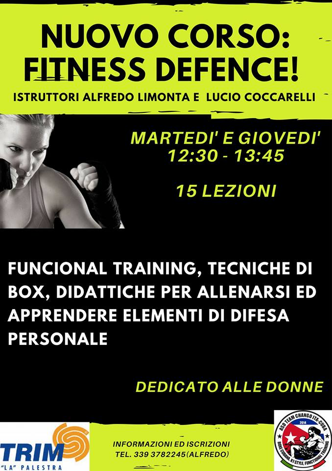 FITNESS DEFENCE!